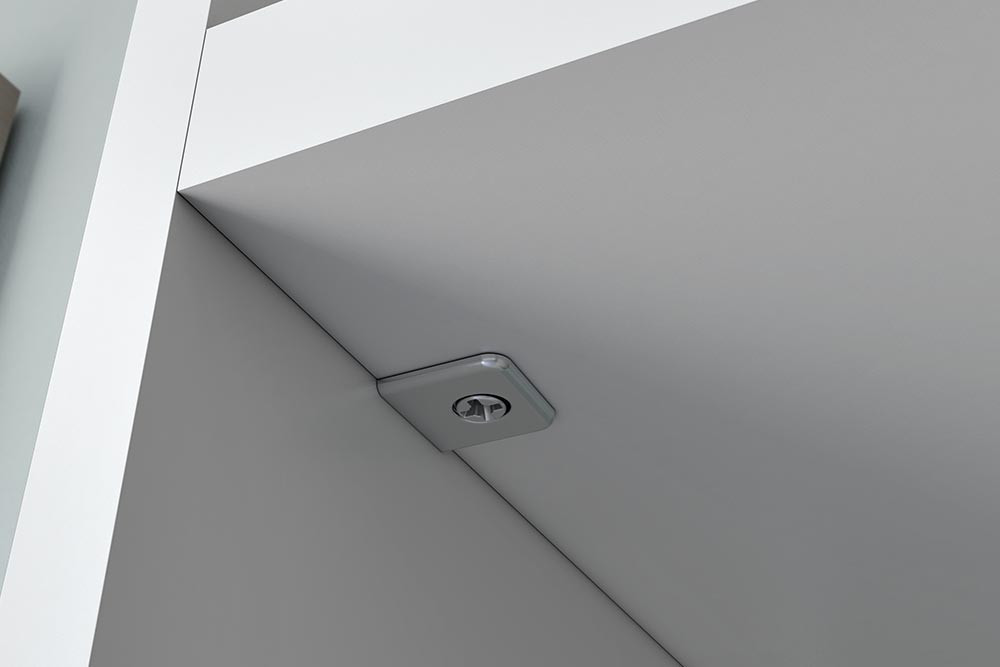 Pk2 connecting shelf support